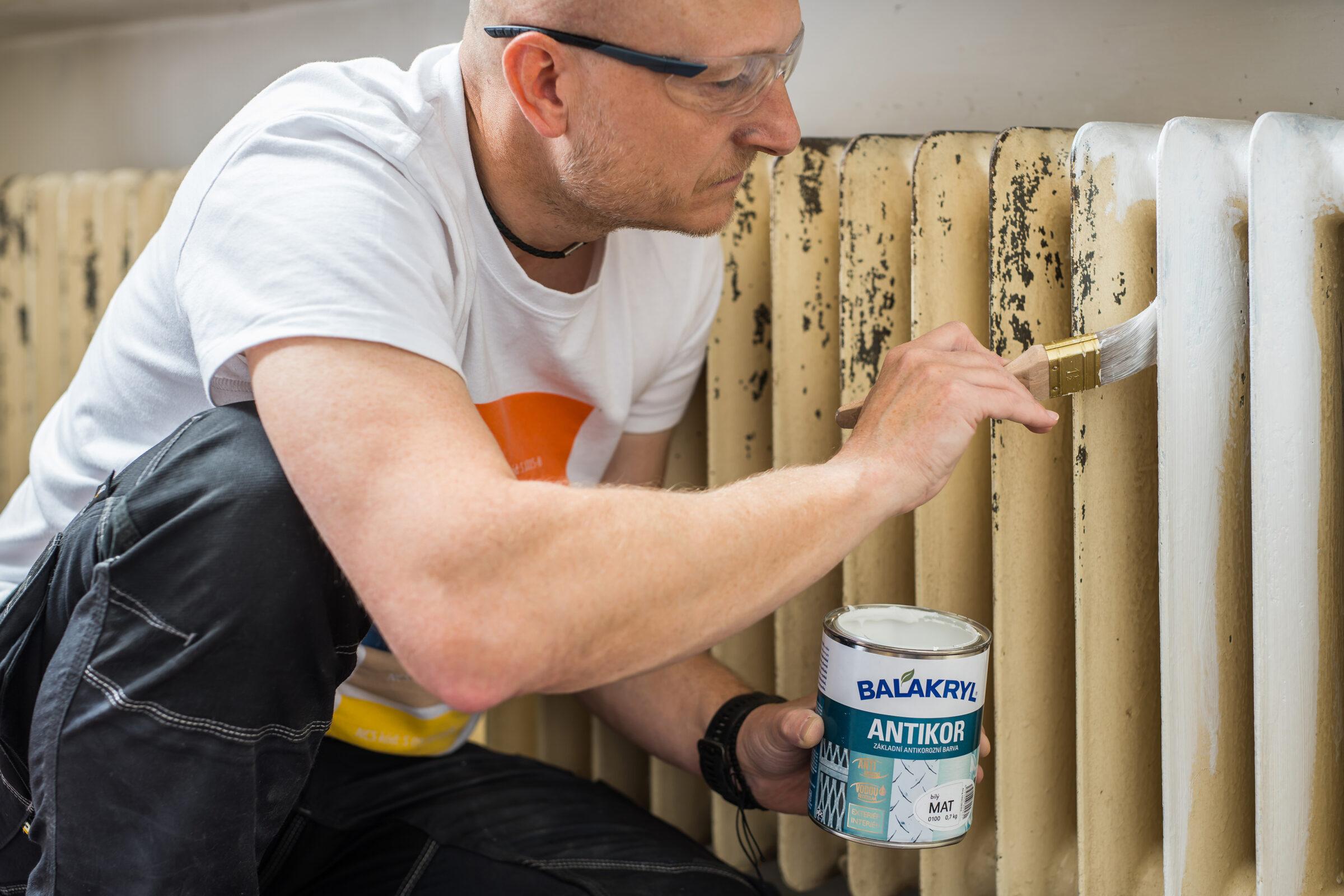 Jak natřít radiátory