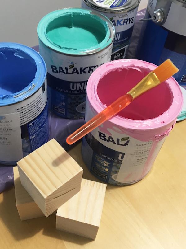 Jak vybrat barvy na dětské hračky